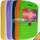 For Blackberry Curve 9360 9350 7color Gel Silicone rubber Keypad Case Cover skin