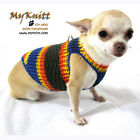 Toy Dog Harness Puppy Sweater D Ring Chihuahua Vest Cat Kittens DH17 Myknitt