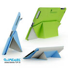 iPearl Magic Foldable PU Leather Stand Case for iPad 2/3/4 with Stylus