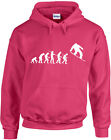 Evolution of Snowboarder, Ski, Snow, Extreme Sports Inspired Printed Hoody