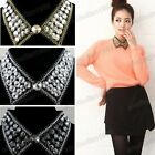 Jewelry Black Collar Crystal Charm Elegant Necklace Gorgeous Chain 3 Colors