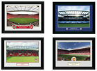 "Official Football Club Framed Picture STADIUMS 8"" x 6"""