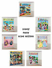 DISNEY PARTY SCENE SETTER DECORATIONS - FROZEN, Mickey, Minnie, Toy Story