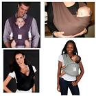 Baby K'tan Ktan Double Sling Infant Carrier Black  XS / S / M / L - 5 Colors