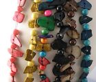 Long 30 Inches Necklaces Assorted Beads Antique Look