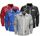 Crosshatch Mens Zip Front Jackets Sizes S M L XL XXL  (Kiza)