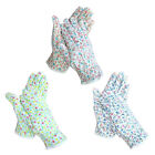 Women Gardening & Farming Anti-slip dot safety Flower work gloves S/M size