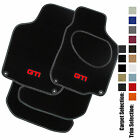 Car Mats to fit VW Golf Mk4 (1997 to 2004) Leather Trim +GTI LOGO