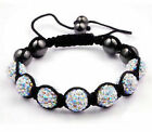 Shamballa Friendship Braelet Crystal Disco Ball Premium Quality Balls Sparkle