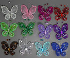 "12pc Nylon Stocking Butterfly Wedding Decorations 2"" Free Shipping U PICK"