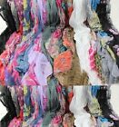 Beautiful Long Cotton Silk Voile Floral Shawl Scarf Wrap Stole For Girls Ladies