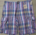 CREMIEUX MENS DESIGNER SOFT COTTON BERMUDA CARGO SHORTS SZ 40 / 42 LIST $49.50