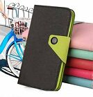 5 Colors For Motorola Mobile phones Leather Cover Case With Card Holder Wallet