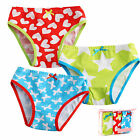 "3 Pcs NEW Vaenait Baby Toddler Kids Girl Underwear Briefs Pantie Set ""Picnic"""