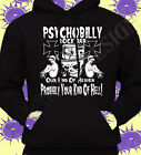 Rockabilly Psychobilly Rock & Roll Hoodie Hoody Punk Gothic Mens Ladies Unisex