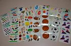Mrs. Grossman Sports Stickers You Choose Football Soccer Basketball Sking
