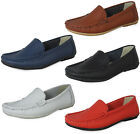 LADIES WOMENS REAL LEATHER FLAT CASUAL SMART OFFICE PUMPS LOAFERS SHOES SIZE UK