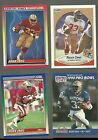 Roger Craig San Francisco 49ers 1990 Fleer 1990 Pro Set 1990 Score Ground Force