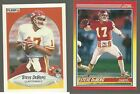 Steve Deberg Kansas City Chiefs 1990 Fleer, 1990 Score