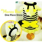 Luxury Pet Apparel- Honey Bee Dress Clothes Small-XLarge Cute w/ Backpack
