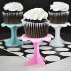 12 NEW Cupcake Pedestals Holders Bridal Shower Wedding Party Decorations Q11638