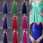 Elegant Women's Wedding Bridesmaid Formal Evening Party Prom Ball Long Dress New