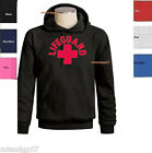 LIFEGUARD Sweatshirt Beach Cross Logo  Surfing Hoodie