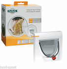 NEW STAYWELL 917 4 WAY LOCKING CAT FLAP DOOR & TUNNEL