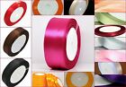 Satin Ribbon 6mm, 12mm and 24mm in Assorted Size and Colors - 26 Assorted colors