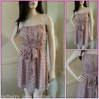 *Embellished* dusky pink dress with gold spots  fully lined size 8,10,12,14