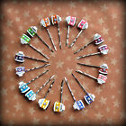 camper van hairslides bay window bus hippy retro handmade cute kitsch festival