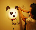 DIY Kids'Bedroom Wallpaper Sticker Lamp Cute 3D Removable Home Decor Night Light
