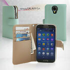 Samsung Galaxy S4 Genuine Leather Flip Cases Covers Wallet Mobile Phone Casings