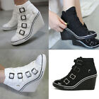 Wedges Trainers Heels Sneakers Platform High Top Ankles Boots Shoes Holly 4 Band