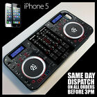 Cover for iPhone 5s  Twin CD DJ Decks Controller Mixer Digital Dual Case +9027