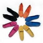 Suede Leather Casual SLIP-ON Loafer comfort ladiess ballet flats shoes [JG]