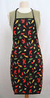 NEW - Water Resistant Chili Pepper Pattern Aprons great for Kitchen or Garden