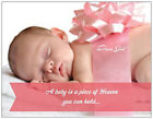 20 30 40 50 Custom BABY Girl PINK Bow GIFT SHOWER Personal Invitations
