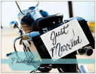 20 MOTORCYCLE Harley Wedding THANK YOU Flat Cards Envelopes Seals