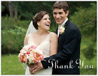 Personalized WEDDING GENERAL Thank You UR PHOTO FRONT/BACK Post CARDS Postcard