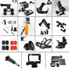 Suction Cup Mount/Chest Head Strap/Adapter/Handlebar for GoPro Hero 1 2 3 3+ 4