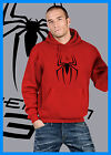 Felpa cappuccio unisex Spiderman hooded spider man comics Death Note logo Uomo
