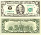 BEN FRANKLIN HUNDRED DOLLAR BILL GLOSSY POSTER PICTURE PHOTO money currency 482