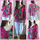 *Luxx* Gorgeous 3/4 batwing floral  top size 8,10,12,14 summer stock