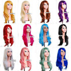 70cm/55cm/80cm Long Wavy Style Women Girl Halloween Cosplay Anime Hair Wig Gift