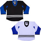 NHL Style Replica Hockey Jersey  Tampa Bay Lightning  NO LOGO   Black or White $33.75 USD on eBay