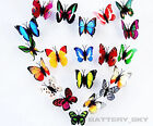 Romantic Dummy Butterflies Artificial Craft For Wedding Festival Decor Colorful