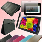 "PU Leather Case for 10.1"" inch Asus MeMo Pad FHD 10 ME302C Tablet + Film F094Z"