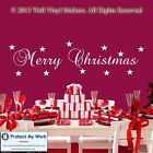 Merry Christmas Wall Sticker Vinyl Decal Graphic Quote Home Shop window