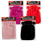 Hot Water Bottle Knitted Cover 2 Litre Insulated Thermal Snuggle Warm Soft Cozy